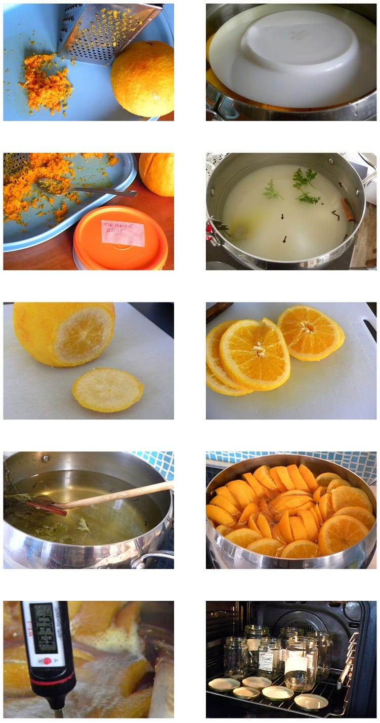 Collage Sweet Orange