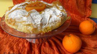 Πορτοκαλόπιτα με Φύλλο