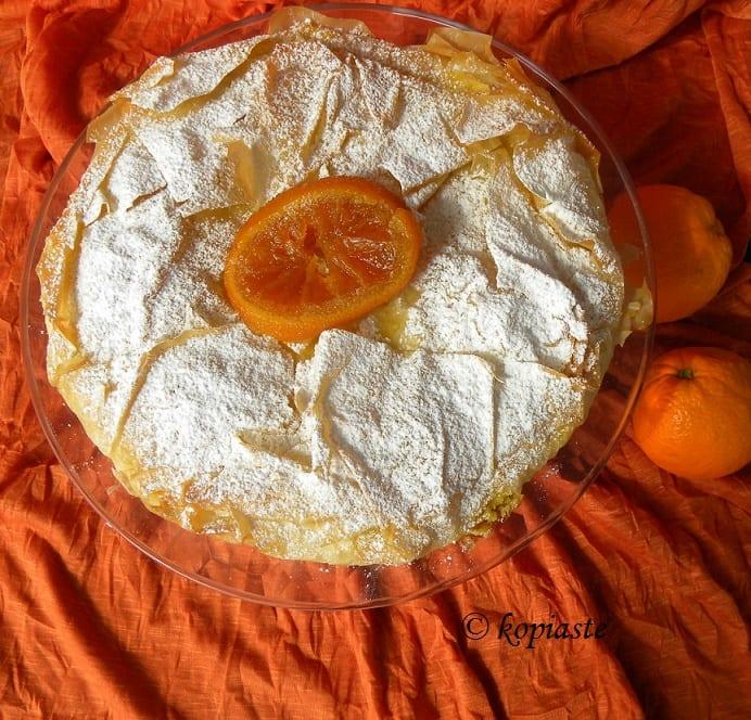 πορτοκαλόπιτα