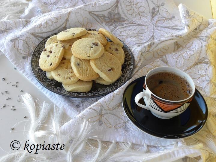 Lavender Lemon Butter Cookies
