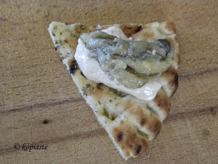 Πίτα τσιπς με Ταραμοσαλάτα και γαύρο μαρινάτο