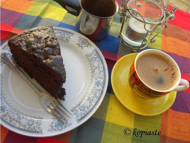 Κέικ σοκολάτας με μαγιονέζα