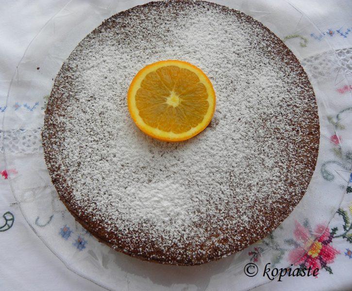 Κέικ Ελαιολάδου με Πορτοκάλι