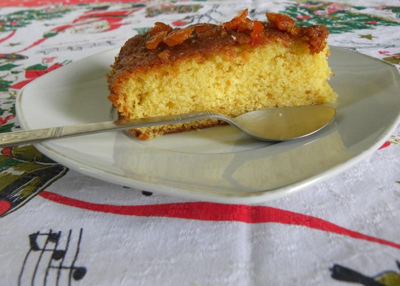 Κέικ Μανταρίνι με Γλάσο