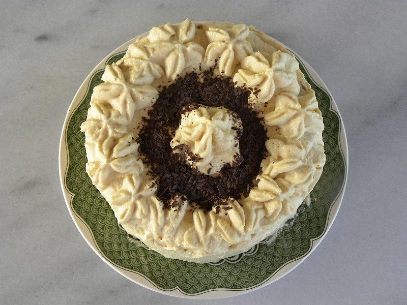 Τούρτα Μόκα με Λευκή Σοκολάτα εικόνα