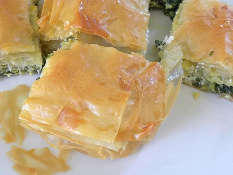 σπανακόπιτα με έτοιμο φύλλο εικόνα