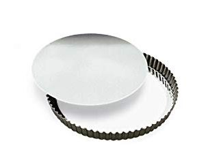 "Browne (80126430) 10"" Fluted Quiche Pan"