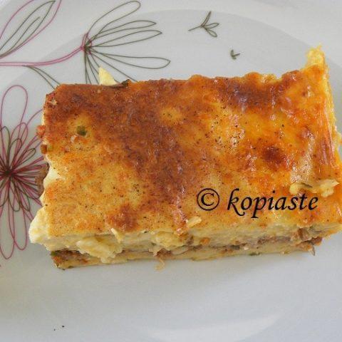 Μακαρόνια του Φούρνου (Κυπριακό Παστίτσιο)