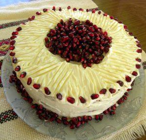 σόκερκακα τούρτα ροδιού εικόνα