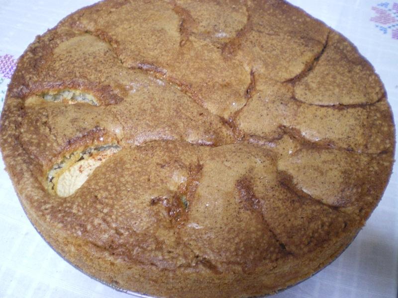 Κέικ Μήλων ψημένο εικόνα