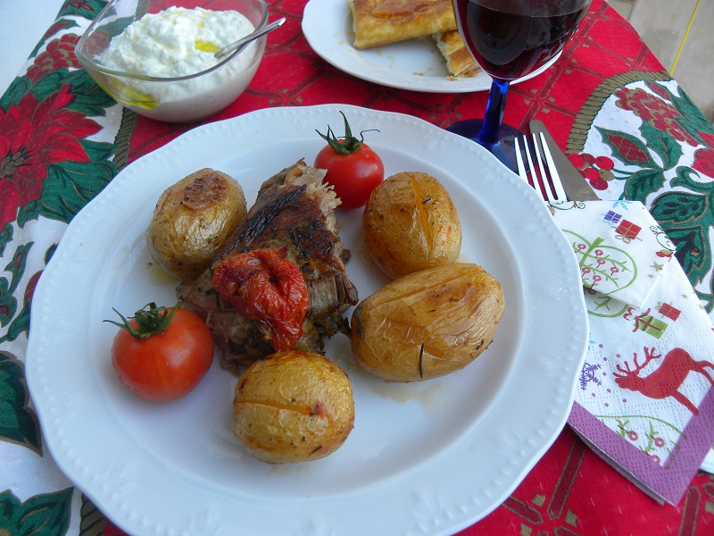 Μπογάνα με πατάτες φωτογραφία