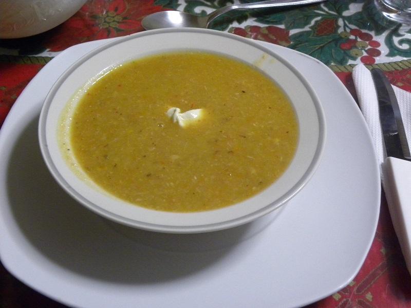 Σούπα γαλοπούλας φωτογραφία