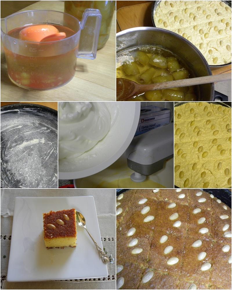 Κολάζ προετοιμασία του γλυκού εικόνα