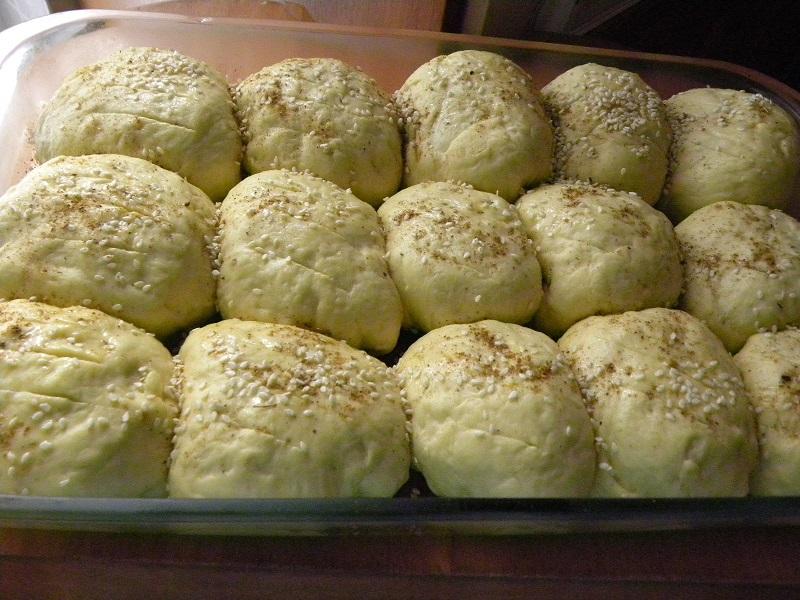 ψωμάκια πριν το ψήσιμο εικόνα