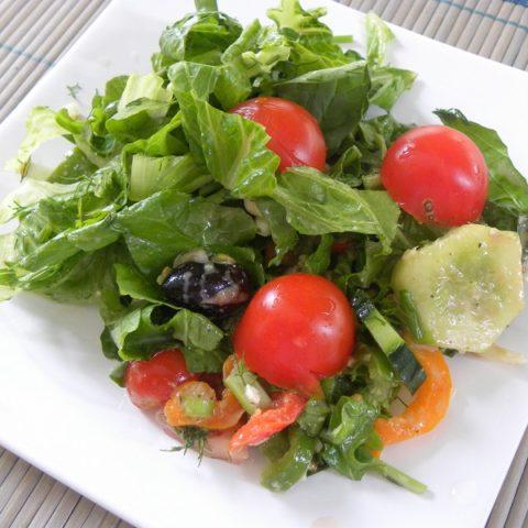 σαλάτα χωρίς τόννο εικόνα