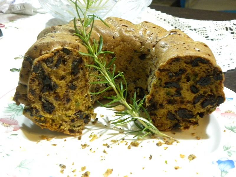 αλμυρό κέικ ελιάς εικόνα
