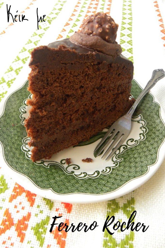 Κολάζ Κέικ με Φερέρο Ροσέ εικόνα
