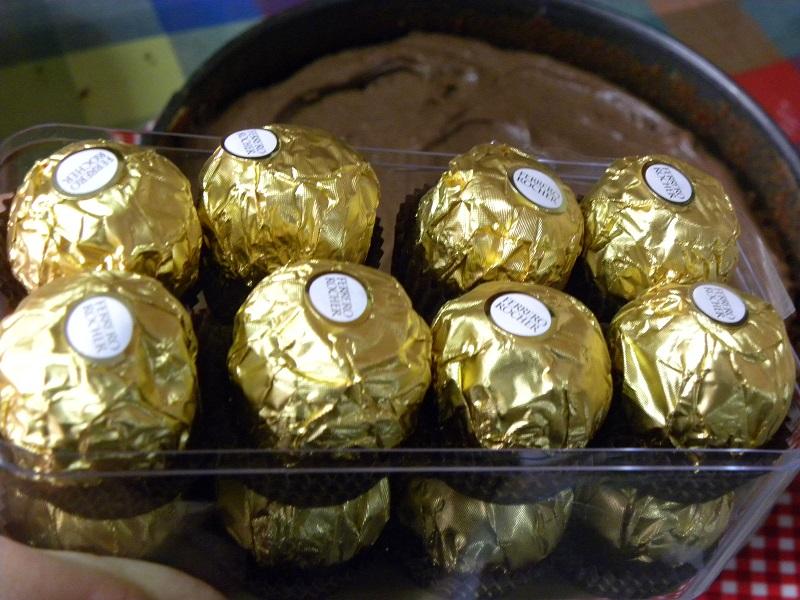 Σοκολατάκια Φερέρο Ροσέ εικόνα