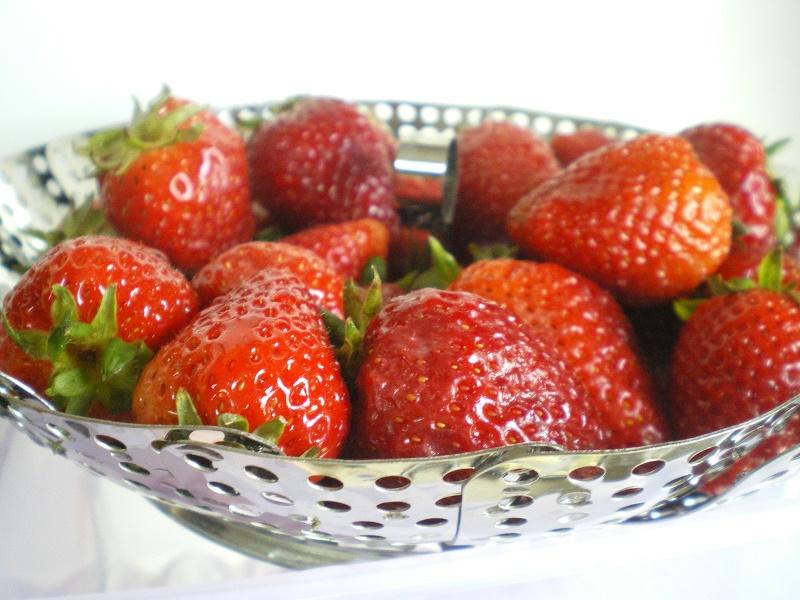 φρέσκες φράουλες εικόνα