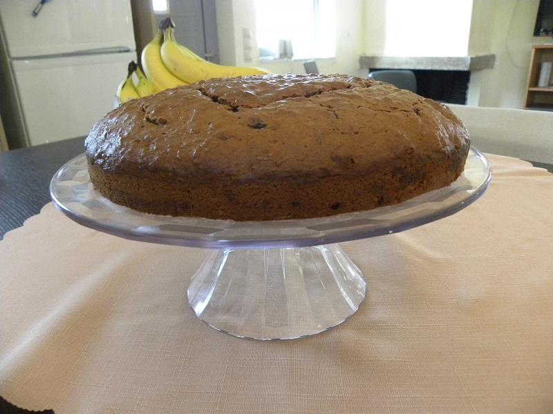 Σοκολατένιον κέικ καρότου χωρίς το γλάσο εικόνα