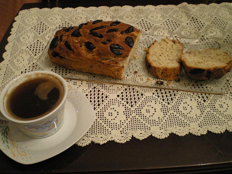 Καφές με ελιόψωμα εικόνα
