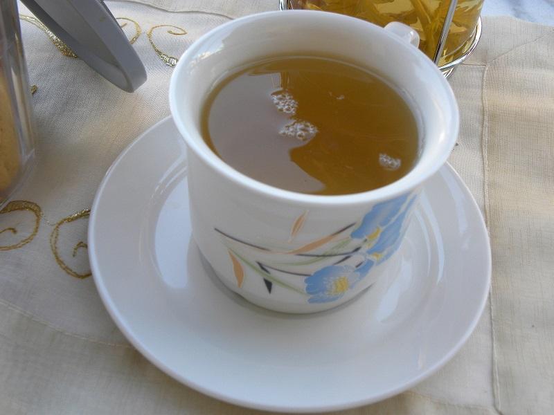 Ζεστό τσάι του βουνού εικόνα