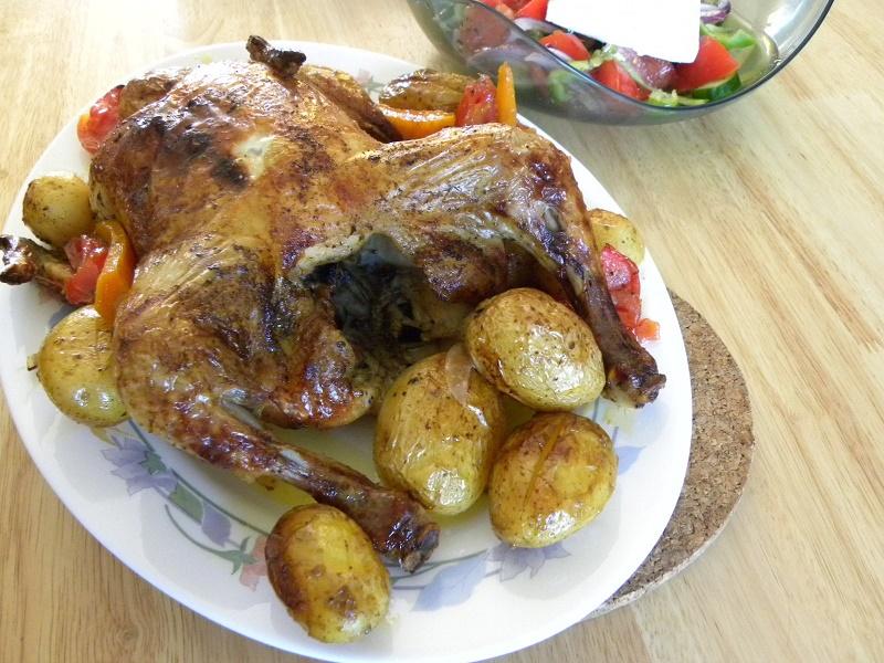 Κοτόπουλο ψητό στο φούρνο φωτογραφία