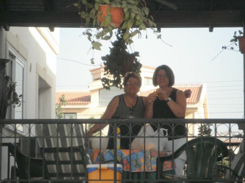 Η Άλκηστις και εγώ στο σπίτι της εικόνα