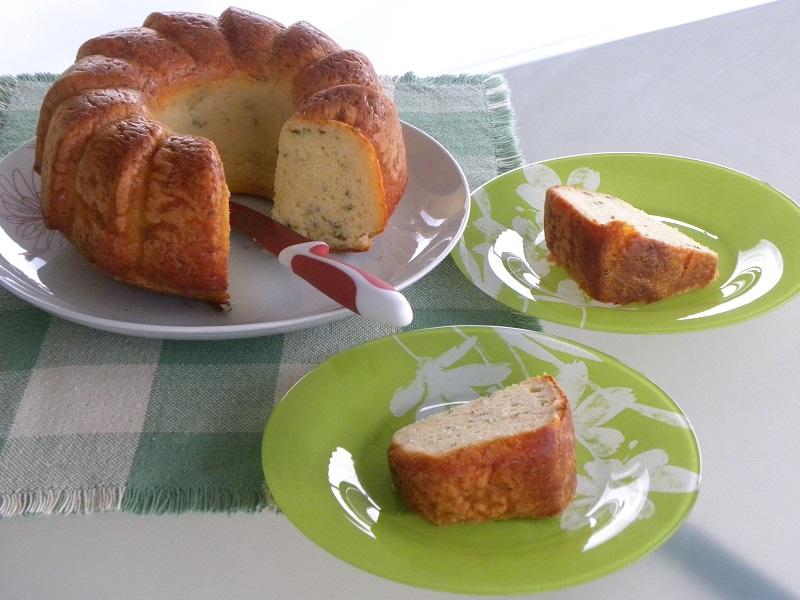 Κυπριακό κέικ με χαλλούμι εικόνα