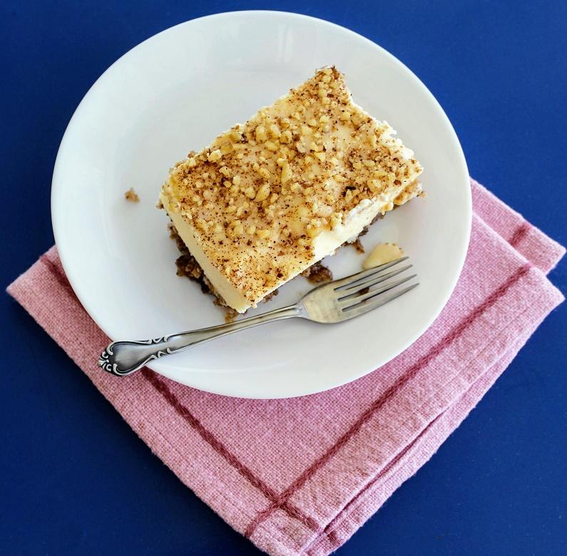 Κέικ με Καρύδια και Κρέμα εικόνα