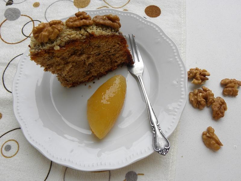 Καρυδόπιτα με γλυκό περγαμόντο και περισσότερα καρύδια εικόνα