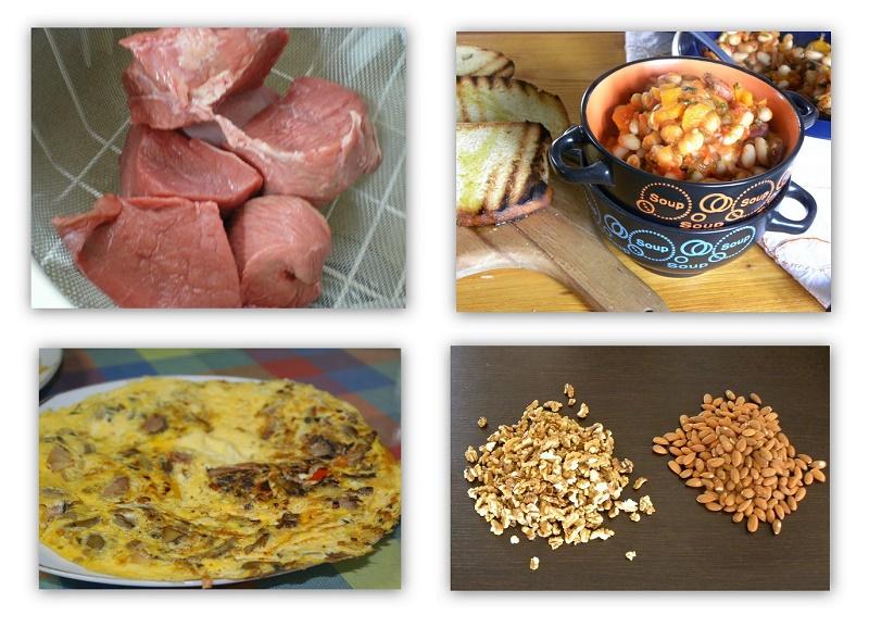 Φαγητά που περιέχουν πρωτεΐνες