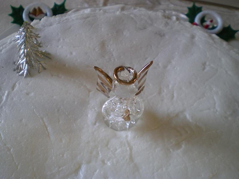 Χριστουγεννιάτικο Κέικ Φρούτων εικόνα