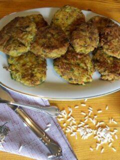 ρυζοκεφτέδες με λαχανικά εικόνα